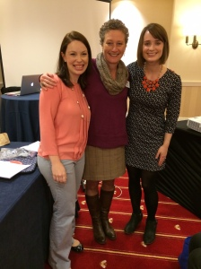 With our FABULOUS editor, Katie Wood Ray, at NCTE14.
