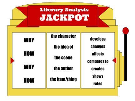 Literary Analysis Jackpot