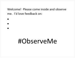 Observe Me