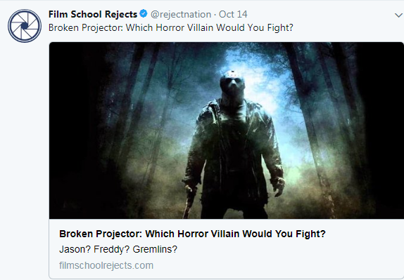 film school horror