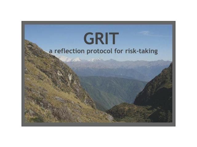GRIT Reflection