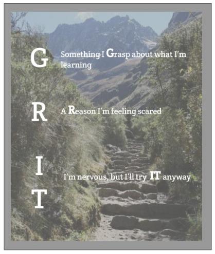 GRIT Steps 1