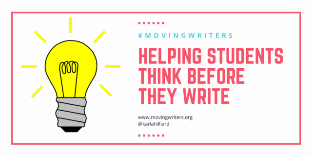 Helping STudents Think Before They Write-2