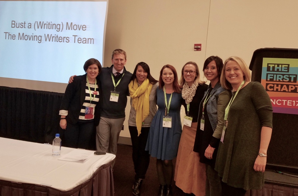 Bust a (Writing) Move -- An NCTE17 Recap