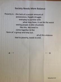 Kenzie's poem before...
