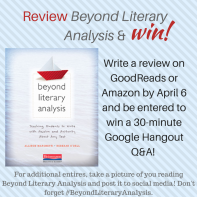 Review Beyond Literary Analysis