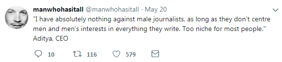 man journalists