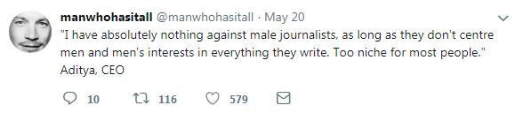 man journalists