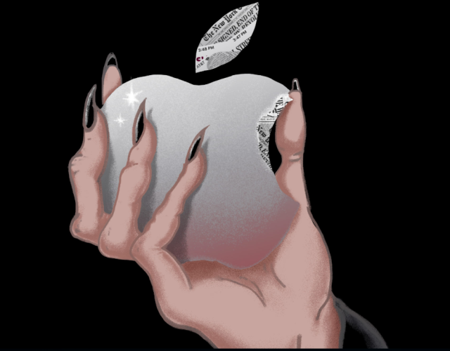 apple witch hand
