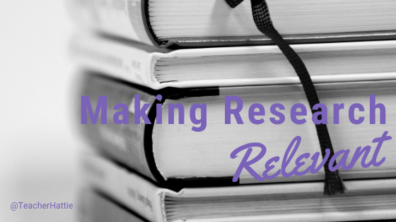 Moving Writers' Top Ten: Making Research Relevant — Beyond the Research Paper