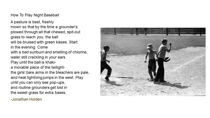 How to Play Night Baseball